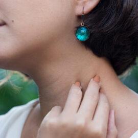 Alemonia Jewelry Murano Glass Earrings